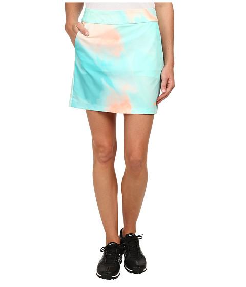 Imbracaminte Femei Nike Golf Printed Woven Skort Artisan TealSunset GlowLight RetroSunset Glow