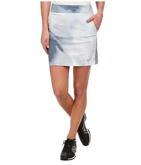 Imbracaminte Femei Nike Golf Printed Woven Skort Light Magnet GreyDove GreyBlue GraphiteDove Grey