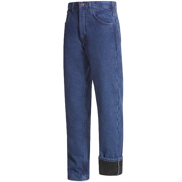 Imbracaminte Barbati Carhartt Work Jeans - Fleece Lining DARK STONE WASH (08)