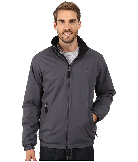 Imbracaminte Barbati IZOD Poly Shell Lined with Polar Fleece Charcoal