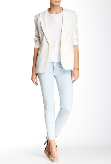 Imbracaminte Femei HUDSON Jeans Luna Super Skinny Crop Jean LOCALS