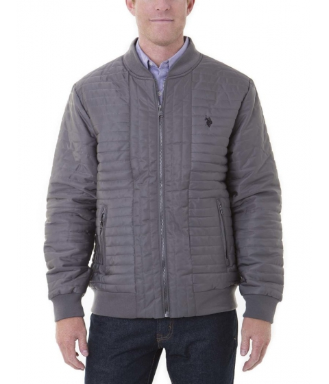 Imbracaminte Barbati US Polo Assn CHANNELED BASEBALL JACKET Castlerock