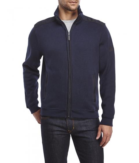 Imbracaminte Barbati English Laundry Full-Zip Knit Jacket Navy