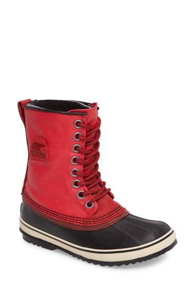 Incaltaminte Femei SOREL 1964 Premium Waterproof Boot Women CANDY APPLE RED ELE
