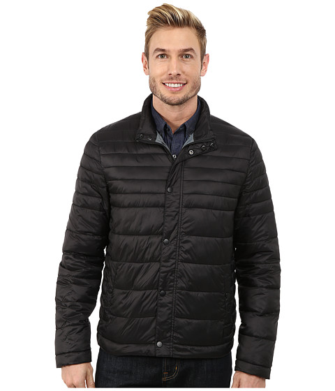 Imbracaminte Barbati Kenneth Cole Quilted Poly Jacket Black