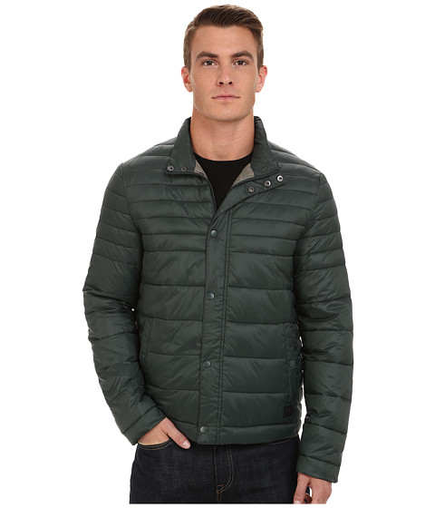 Imbracaminte Barbati Kenneth Cole Quilted Poly Jacket Hunter