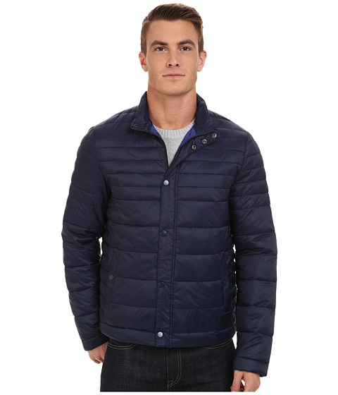 Imbracaminte Barbati Kenneth Cole Quilted Poly Jacket Midnight