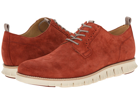 Incaltaminte Barbati Cole Haan Zerogrand Plain Oxford Burnt Henna