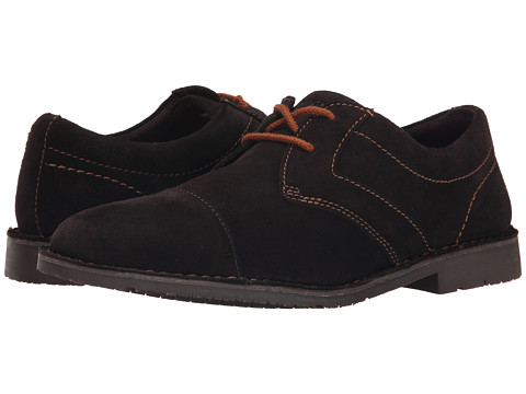 Incaltaminte Barbati Rockport Urban Edge Captoe Oxford Dark Bitter Chocolate Suede