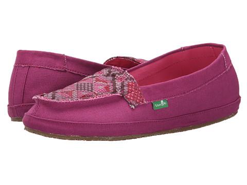 Incaltaminte Femei Sanuk Cross Stitch BerryHot Pink