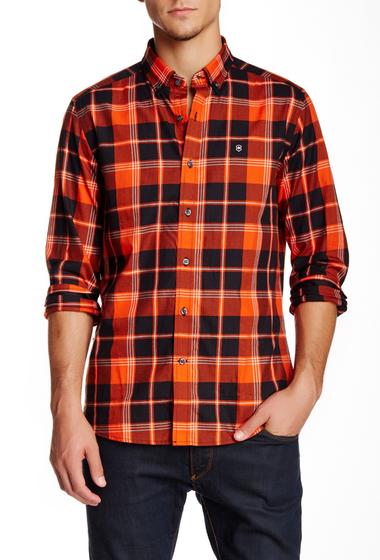Imbracaminte Barbati Victorinox Swiss Army Sellen Long Sleeve Orange Flame Tailored Fit Shirt ORANGE