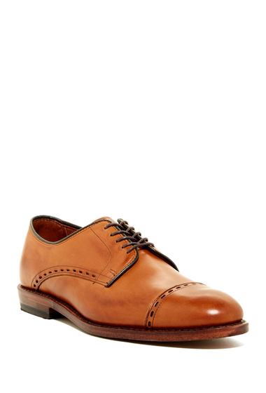 Incaltaminte Barbati Allen Edmonds Madison Ave Cap Toe Derby - Multiple Widths Available WALNUT