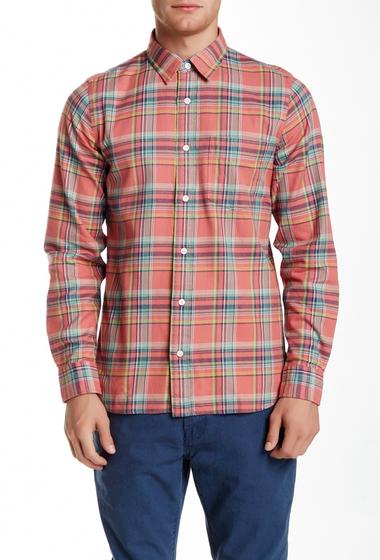 Imbracaminte Barbati Jack Spade Sanford Plaid Long Sleeve Modern Fit Shirt RED