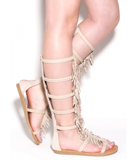 Incaltaminte Femei CheapChic Play To Win Gladiator Sandals Skin
