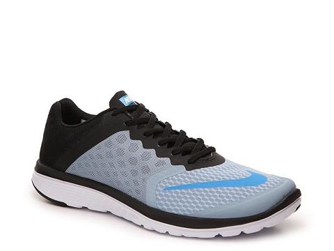 Incaltaminte Barbati Nike FS Lite Run 3 Lightweight Running Shoe - Mens GreyBlue