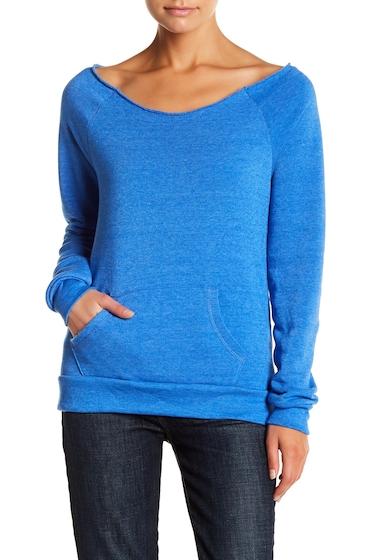 Imbracaminte Femei Alternative Apparel Apparel Fleece Sweater ECO TRUE PACBLU