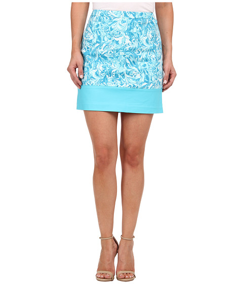 Imbracaminte Femei Michael Kors Petite Print Blocked Mini Turquoise