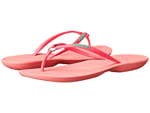 Incaltaminte Femei Havaianas Ring Flip Flops Light Rose