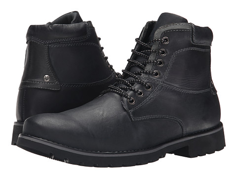 Incaltaminte Barbati Steve Madden Crosserr Black Leather