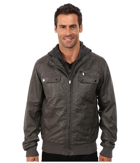 Imbracaminte Barbati Steve Madden Pu Jacket Grey