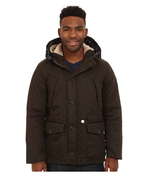 Imbracaminte Barbati English Laundry Cotton Wax Coated Jacket Olive