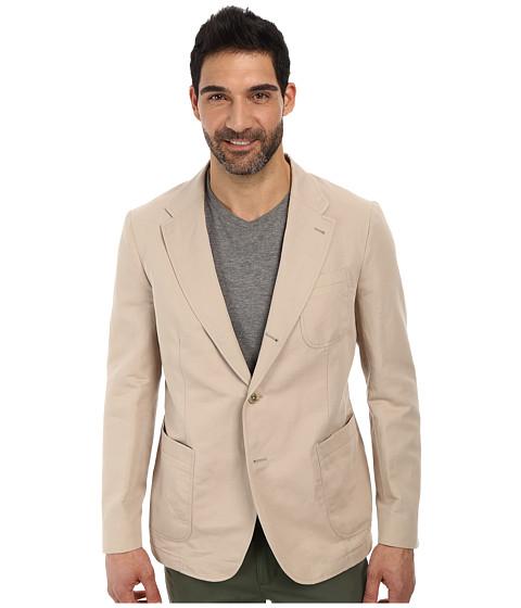 Imbracaminte Barbati Lacoste Cotton Linen Blazer Light Gobi Desert Beige