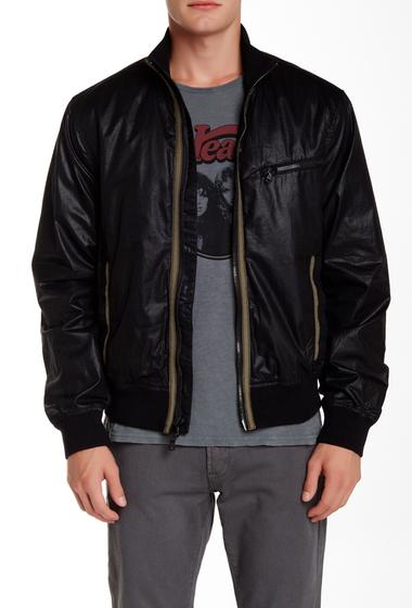 Imbracaminte Barbati Star USA By John Varvatos Lightweight Rib Trim Bomber Jacket BLACK