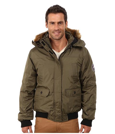 Imbracaminte Barbati English Laundry Pu Coated Jacket Olive