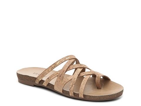 Incaltaminte Femei Vaneli Berrie Flat Sandal Cork