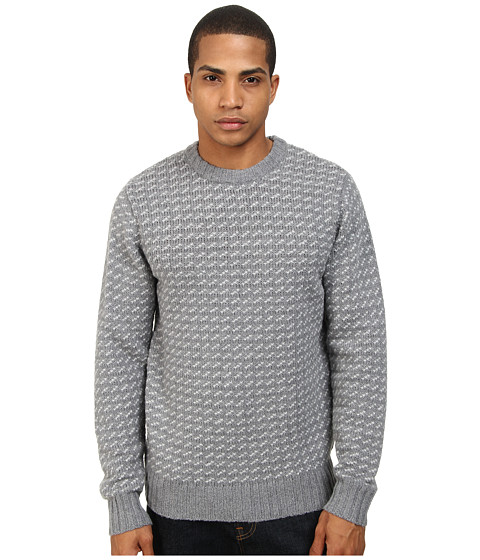 Imbracaminte Barbati Obey York Sweater Heather Grey