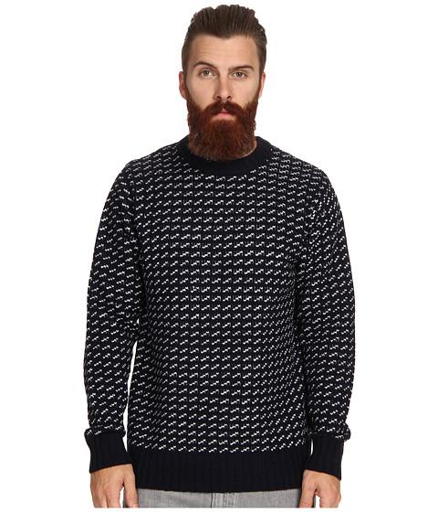 Imbracaminte Barbati Obey York Sweater Navy