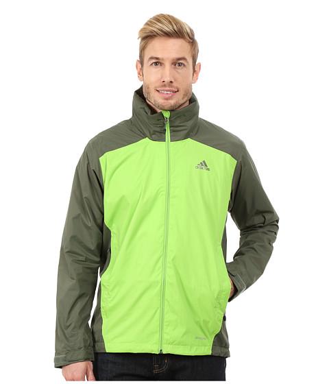Imbracaminte Barbati adidas Outdoor Wandertag 2-Tone Jacket Semi Solar Green