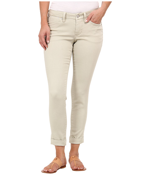 Imbracaminte Femei Jag Jeans Petite Erin Cuffed Ankle Knit Denim in Khaki Khaki