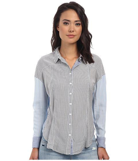 Imbracaminte Femei Free People Rayon Oxford Stripe Captetown Button Down Chambray Combo