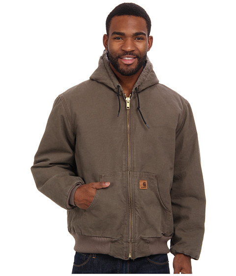 Imbracaminte Barbati Carhartt QFL Sandstone Active Jacket Light Brown