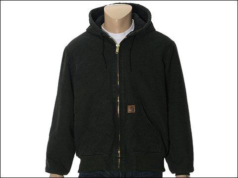 Imbracaminte Barbati Carhartt QFL Sandstone Active Jacket Moss