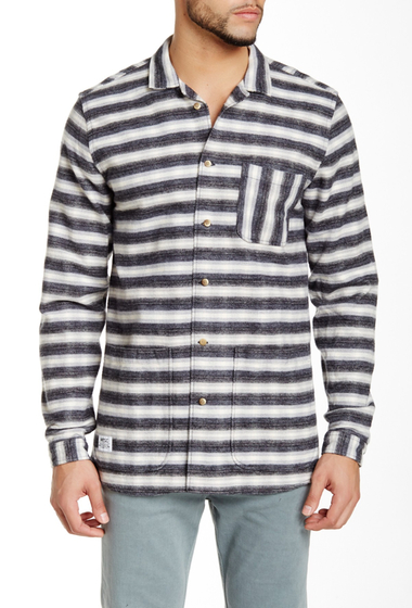 Imbracaminte Barbati WeSC Striped Shirt black
