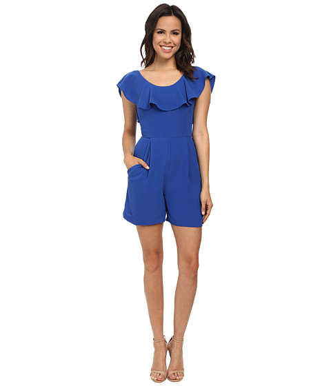 Imbracaminte Femei French Connection Aro Crepe Romper Electric Blue