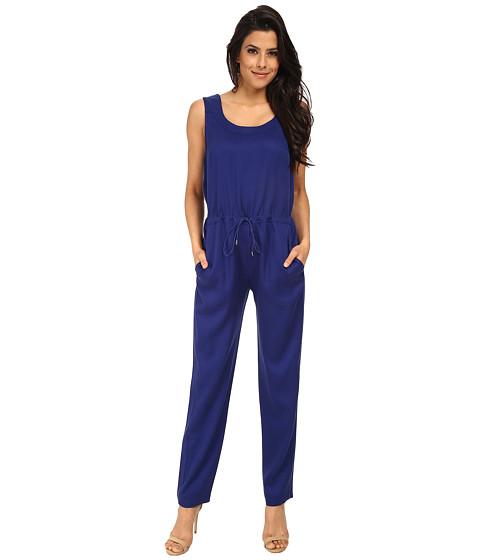 Imbracaminte Femei French Connection Miami Drape Jumpsuit 7GDAJ Monarch Blue