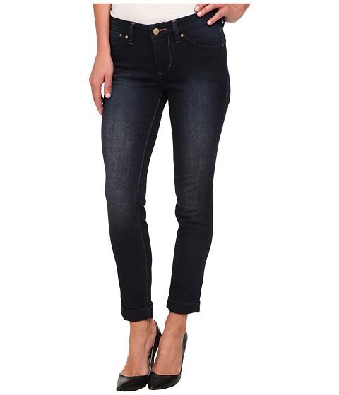 Imbracaminte Femei Jag Jeans Erin Cuffed Ankle Knit Denim in Dark Whale Dark Whale