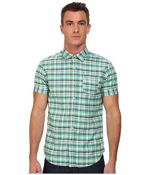 Imbracaminte Barbati Scotch Soda Short Sleeve Check Shirt Green