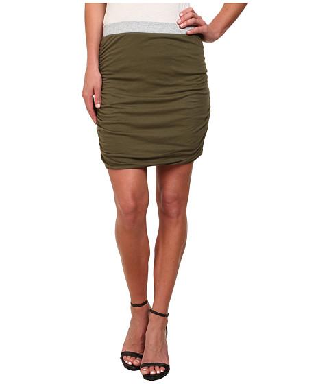 Imbracaminte Femei Splendid Rib Mix Skirt Olivine