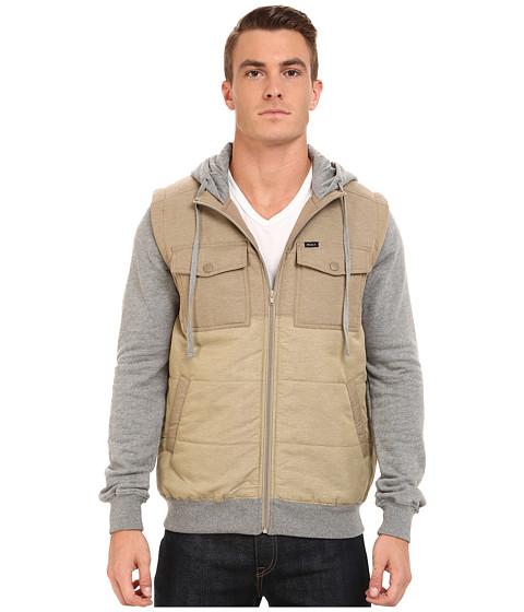 Imbracaminte Barbati RVCA Puffer Wayward Jacket Dark Khaki