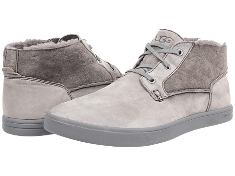 Incaltaminte Barbati UGG Kramer Washed Capra Grey TwinfaceLeather