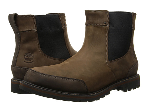 Incaltaminte Barbati Timberland Earthkeepersreg Chestnut Ridge Chelsea Waterproof Dark Brown Oiled