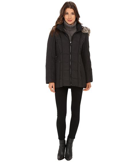 Imbracaminte Femei AK Anne Klein Short Zip Front Down Size Panels Black