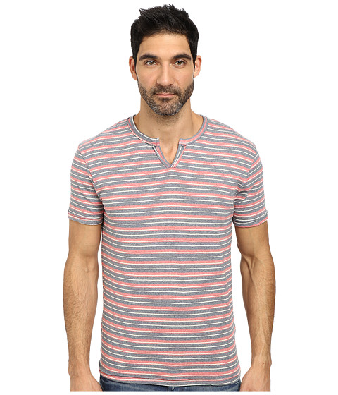 Imbracaminte Barbati Lucky Brand Recycled Notch Neck Tee Navy Multi