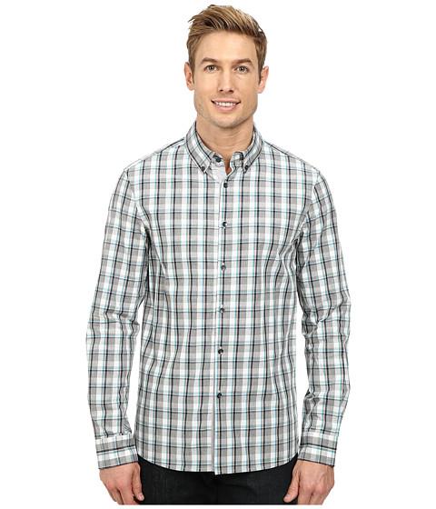 Imbracaminte Barbati Kenneth Cole Long Sleeve Linear Plaid Shirt Capri Combo