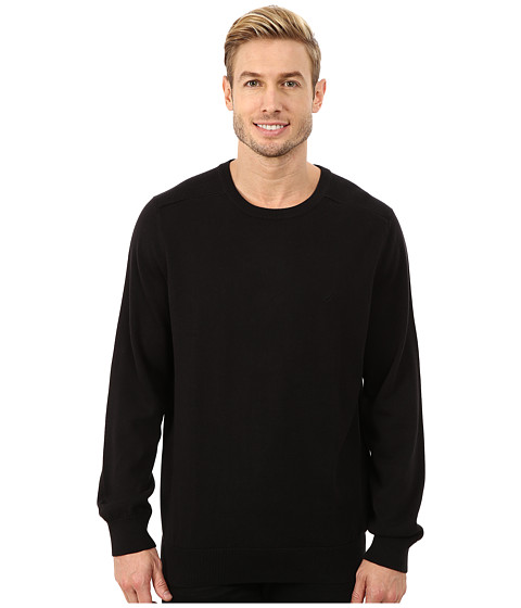 Imbracaminte Barbati Nautica Solid Crew Neck Sweater True Black