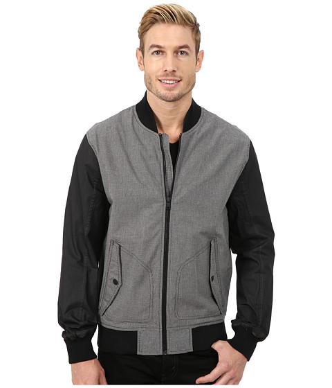 Imbracaminte Barbati DKNY Contrast Sleeve Bomber Jacket Grey